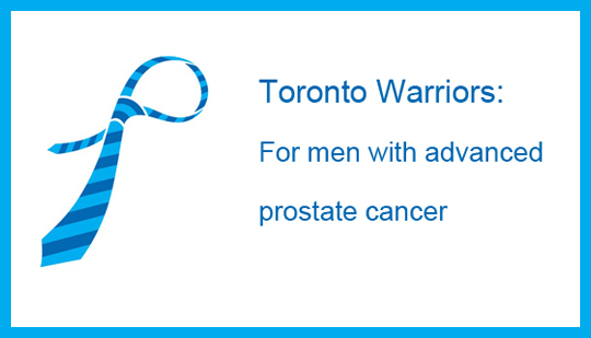 PCCN Toronto Warriors for men with advanced prostate cancer